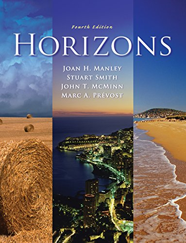 Cengage Advantage Books: Horizons (with Audio CD) (1428292578) by Manley, Joan H.; Smith, Stuart; McMinn, John T.; Prevost, Marc A.