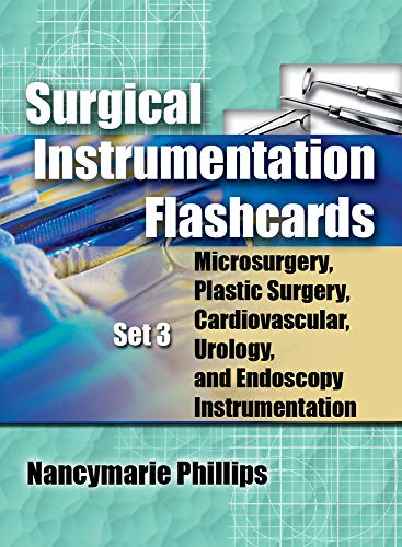 Surgical Instrumentation Flashcards Set 3: Microsurgery, Plastic Surgery, Urology and Endoscopy ...