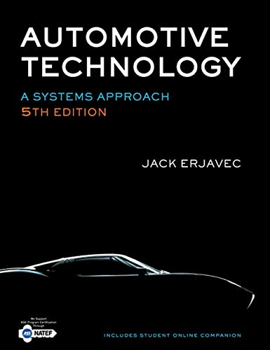 9781428311497: Automotive Technology: A Systems Approach, 5th Edition