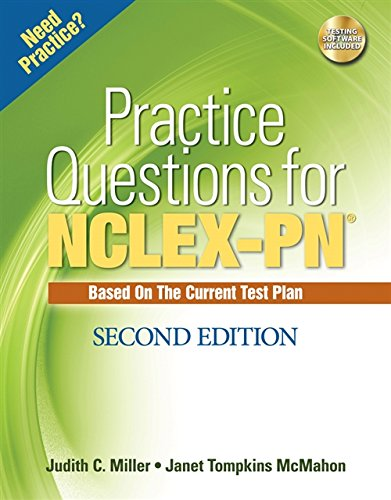 9781428312197: Practice Questions for NCLEX-PN (Test Preparation)