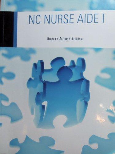 9781428317321: NC Nurse Aide I