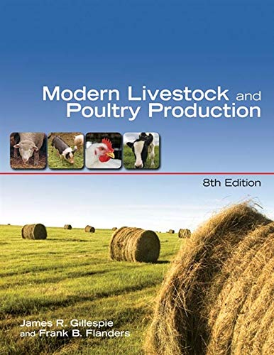 9781428318083: Modern Livestock & Poultry Production (Texas Science)