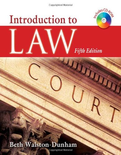 9781428318502: Introduction to Law