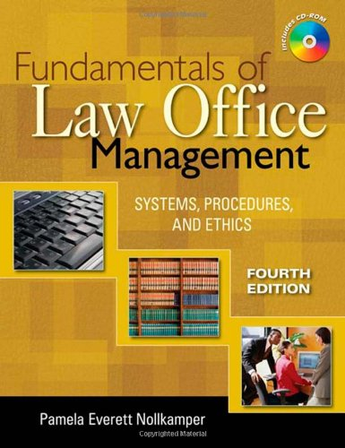 9781428319288: Fundamentals of Law Office Management
