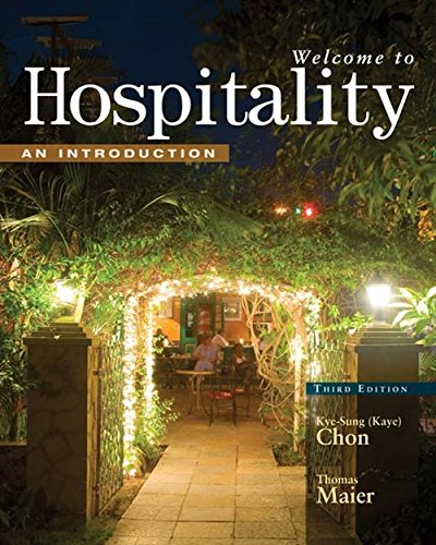 9781428321489: Welcome to Hospitality: An Introduction