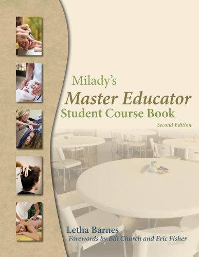 9781428321519: Milady's Master Educator: Student Course Book