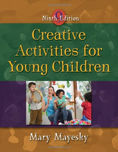 9781428321809: Creative Activities for Young Children