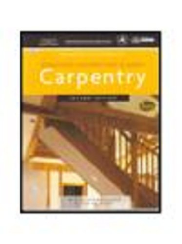 Workbook for Vogt's Residential Construction Academy: Carpentry, 2nd (Residential Construction Academy Series) (1428323643) by Vogt, Floyd