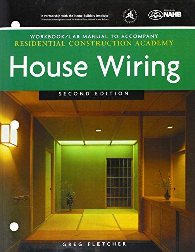 workbook with lab manual for fletcher's residential, house wiring