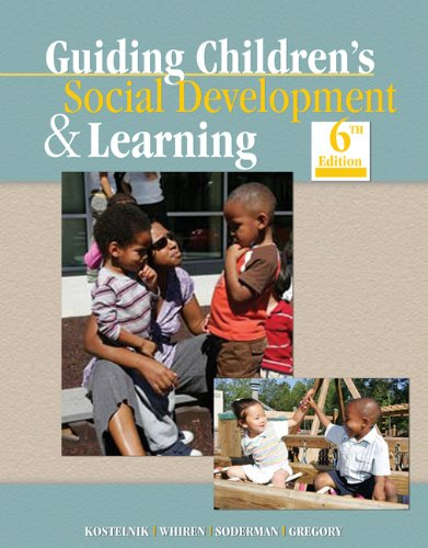 9781428336940: Guiding Children's Social Development and Learning