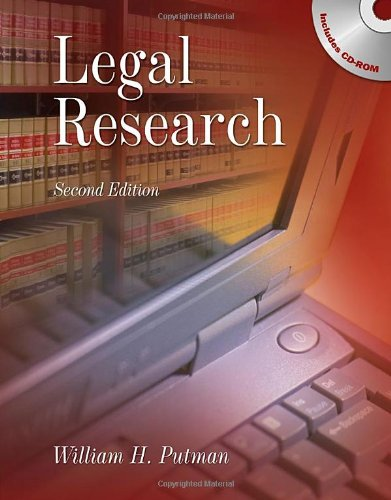 9781428357013: Legal Research