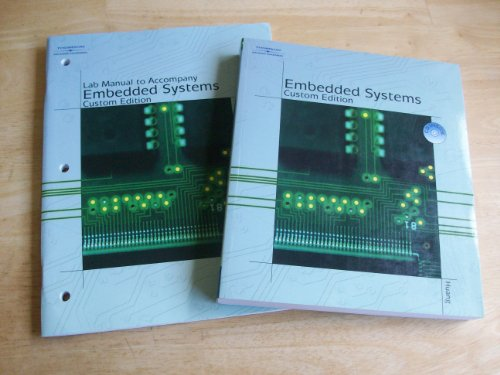9781428357785: Embedded Systems Custom Edition with Lab Manual