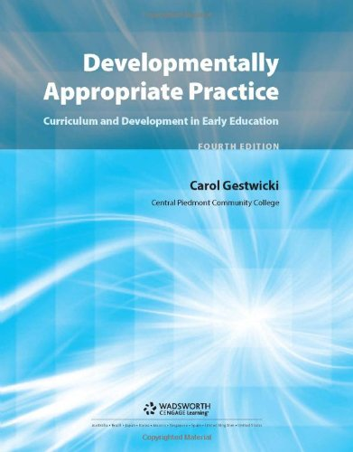 9781428359697: Developmentally Appropriate Practice: Curriculum and Development in Early Education (What's New in Early Childhood)