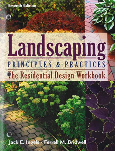 9781428376434: Residential Design Workbook for Ingels' Landscaping Principles and Practices, 7th