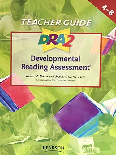 9781428405349: Developmental Reading Assessment (Teacher Guide . 4-8)