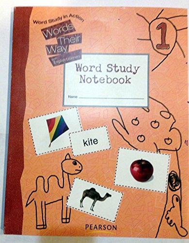 Words Their Way Word Study Notebook 1