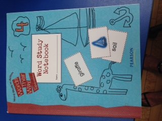 Words Their Way Word Study Notebook 4: Templeton Bear