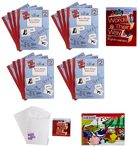 WORDS THEIR WAY ENGLISH LANGUAGE LEARNERS CLASSROOM PACKAGE LEVEL 2 2009C: CELEBRATION PRESS