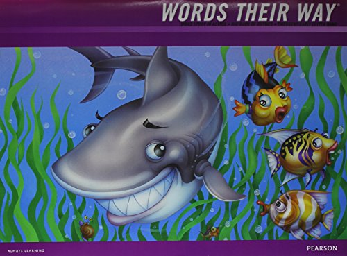 9781428432413: WORDS THEIR WAY 2012 WORD STUDY IN ACTION DEVELOPMENTAL MODEL EMERGENT-EARLY LETTER NAME BIG BOOK OF RHYMES