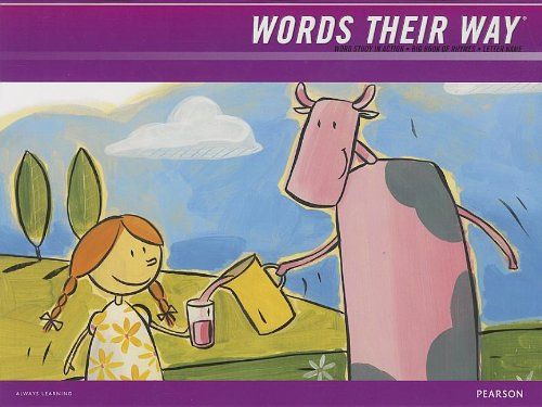 9781428432420: WORDS THEIR WAY 2012 WORD STUDY IN ACTION DEVELOPMENTAL MODEL LETTER NAME BIG BOOK OF RHYMES