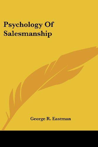 9781428632011: Psychology Of Salesmanship