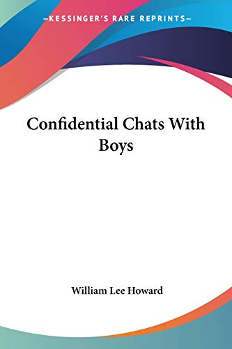 9781428639126: Confidential Chats With Boys
