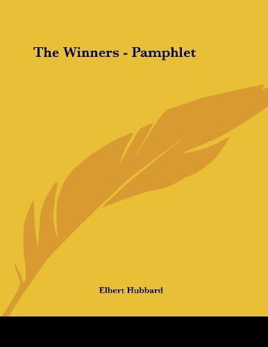 9781428698192: The Winners - Pamphlet