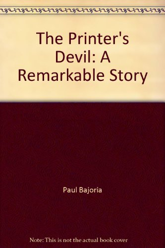 9781428713369: The Printer's Devil: A Remarkable Story