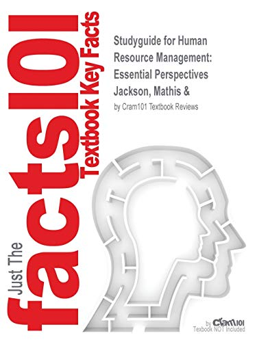 9781428806658: Studyguide for Human Resource Management: Essential Perspectives by Jackson, Mathis &, ISBN 9780324202175 (Cram101 Textbook Outlines)