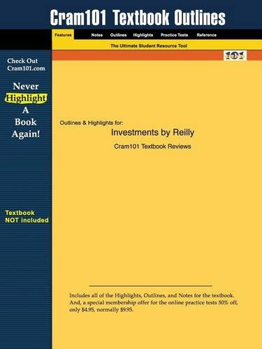 Outlines & Highlights for Investments by Frank: Norton 7th Edition