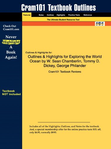 Outlines Highlights for Exploring the World Ocean by W. Sean Chamberlin, Tommy D. Dickey, George ...