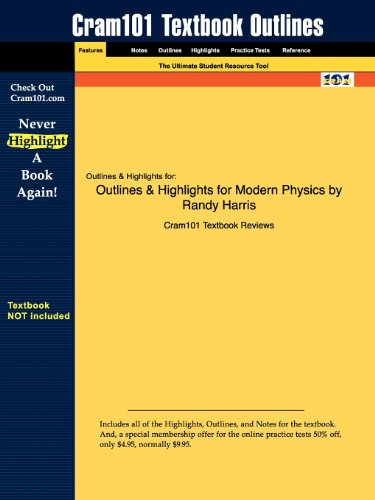 9781428874633: Outlines & Highlights for Modern Physics by Randy Harris
