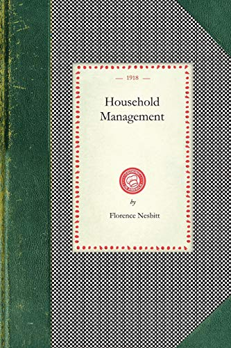 9781429010160: Household Management (Cooking in America)