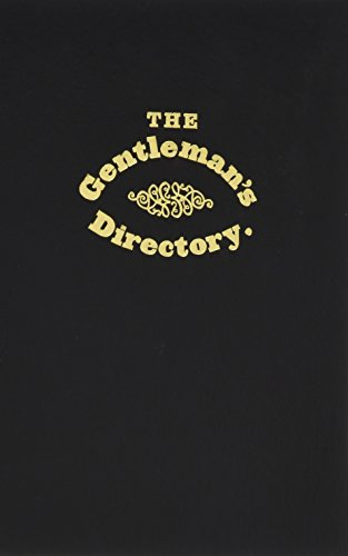 The Gentleman's Directory (Applewood After Dark): New-York Historical Society
