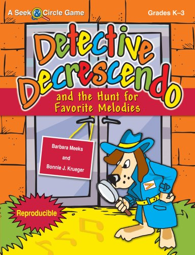 9781429100144: Detective Decrescendo and the Hunt for Favorite Melodies (Reproducible)