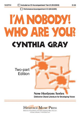 I'm Nobody! Who Are You?: Two-Part Edition (New Horizons)