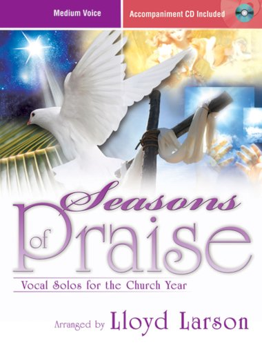 9781429103404: Seasons of Praise: Vocal Solos for the Church Year (Accompaniment CD Included, Medium Voice)