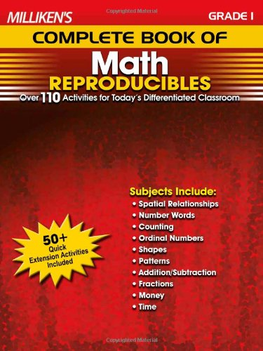 Millikens Complete Book of Math Reproducibles, Grade