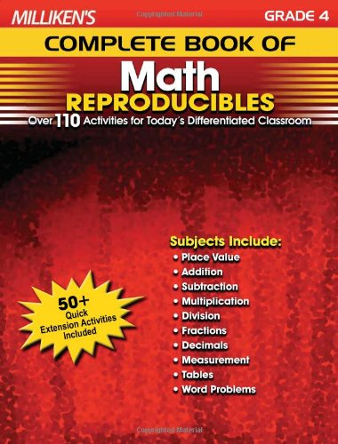9781429104586: Milliken's Complete Book of Math Reproducibles - Grade 4