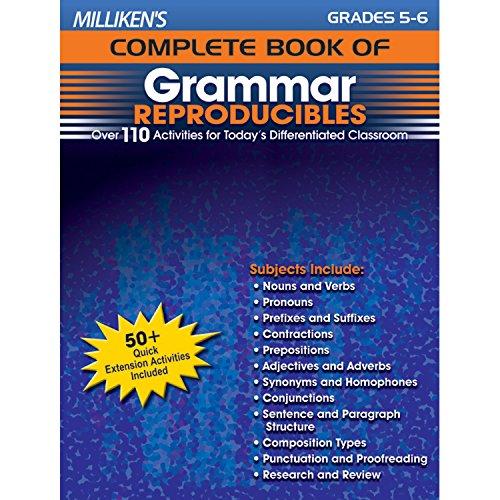 9781429104630: Milliken's Complete Book of Grammar Reproducibles - Grades 5-6