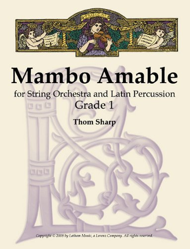 9781429106214: Mambo Amable for String Orchestra and Latin Percussion