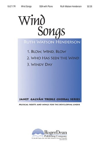 Wind Songs (1429115637) by Mother Goose; Christina Georgina Rossetti