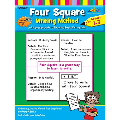9781429117418: Four Square Writing Method Grades 1-3 w/ Enhanced CD