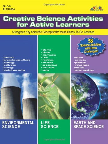 9781429117982: Creative Science Activities for Active Learners