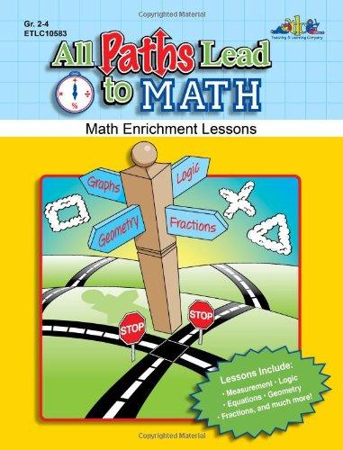 9781429117999: All Paths Lead to Math, Grades 2-4 (Math Enrichment Lessons)