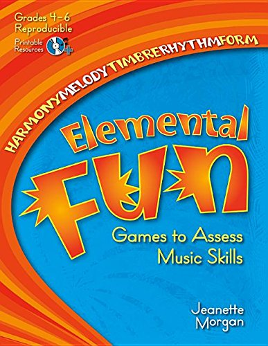 9781429118163: Elemental Fun: Games to Assess Music Skills (General Music, Games, CD Included, Reproducible)
