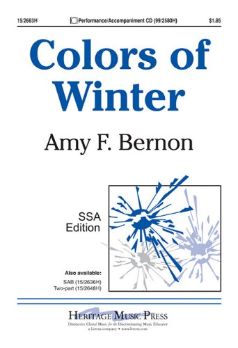 9781429119184: Colors of Winter
