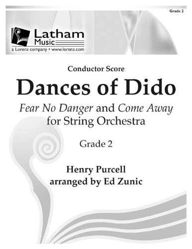 9781429120210: Dances of Dido for String Orchestra - Score: Fear No Danger and