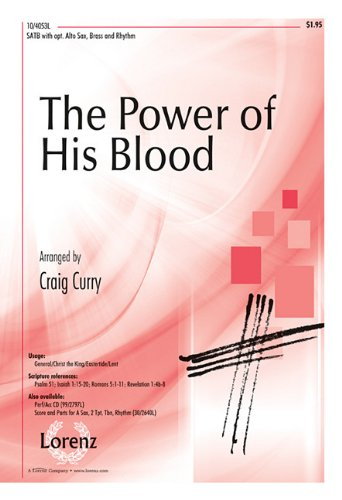 9781429121309: The Power of His Blood