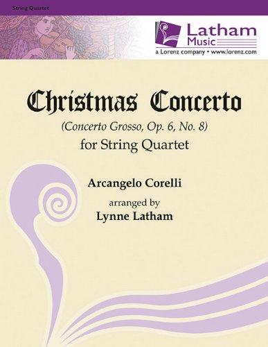 9781429121484: Christmas Concerto for String Quartet: Concerto Grosso, Op. 6, No. 8